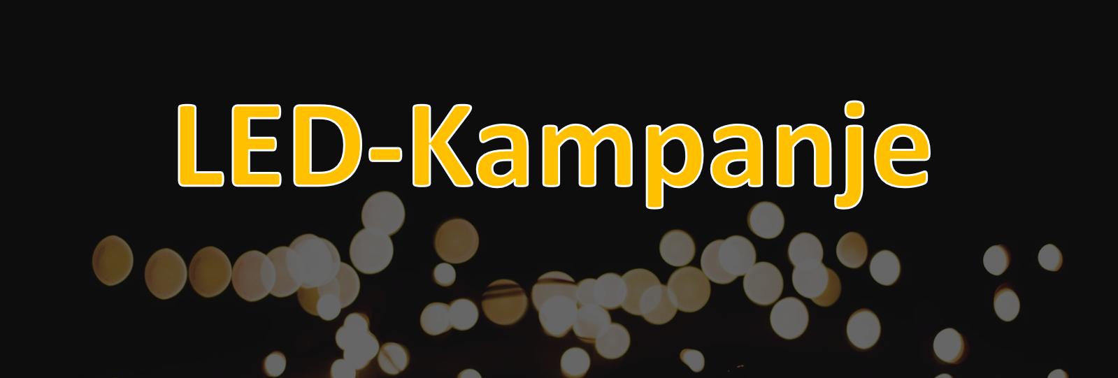 Sjekk ut vår LED-Kampanje