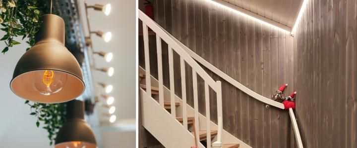Riktig belysning innendørs og utendørs